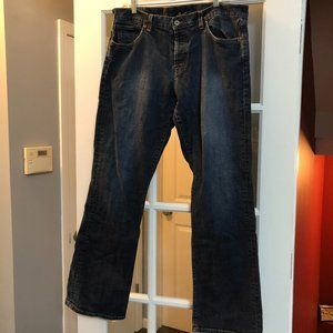 Lucky Brand Size 36  Boot Cut Boyfriend Jeans.
